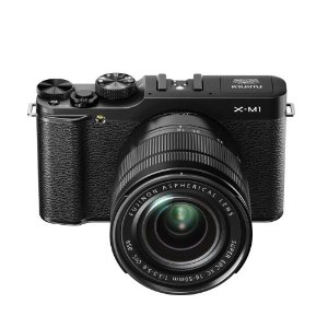 Fujifilm X-M1 Compact System 16MP Digital Camera