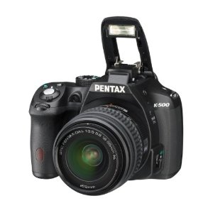 Pentax K-500 16MP Digital SLR Camera