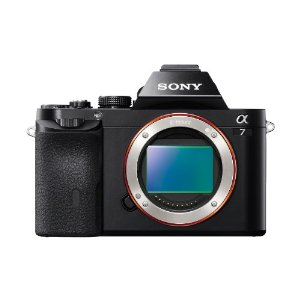 Sony Alpha A7  24.3 MP Interchangeable Digital Lens Camera - Body Only